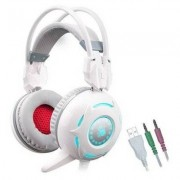 A4TECH Słuchawki Bloody G300 Biały