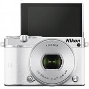 Sistemski fotoaparat 1 J5 Nikon uklj. 1 Nikkor VR 10-30 mm 20.8 mil. piksela bijela WiFi
