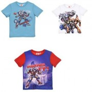 Hasbro Transformers kortärmad T-shirt barn (Blå, 4A - 104 cm)