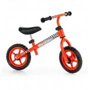 Bicicleta Sin Pedales Roja Con Casco - Molto