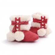 Warm Winter Baby Shoes Girls Shoes Snow Boots Infant Non Slip Booties Prewalkers S08