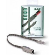 Cititior de carduri cablu Lightning USB 2.0 microSD