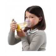 Air Liquide Medical Syst. Spa L'Espace Pediatrico Camera Distanziatrice Con Maschera Gialla