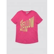TOM TAILOR T-shirt met print, shocking pink pink, 152
