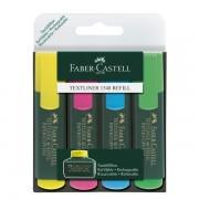 Set 4 textmarker 1548 Faber-Castell