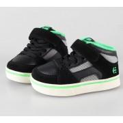 rövidszárú cipő gyermek - ETNIES - Black/Green