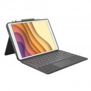 "Logitech Combo Touch Funda con Teclado Retroiluminado para iPad Air 3ºGen/iPad Pro 10.5"""