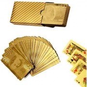 S4D Gold Plated Playing Cards For Magic - No.17Bb Golden - 54 Cards