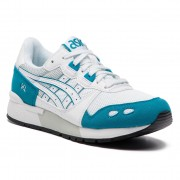 Сникърси ASICS - TIGER Gel-Lyte 1191A092 White/Teal Blue 102