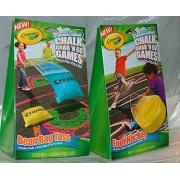Chalk Grab & Go Games. Bean Bag Golf & Bean Bag Toss by Crayola