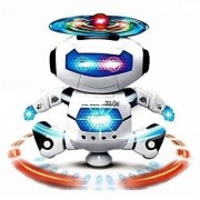 SKENT ROBOT Dancing Naughty Robot with Music 3D Lights Battery Operated ROBOT