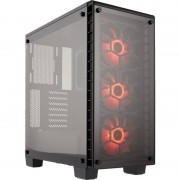 Carcasa Corsair Crystal Series 460X RGB Tempered Glass Black