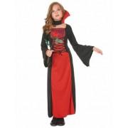 Vegaoo Rood vampierenkostuum voor meisjes 140/152 (10-12 jaar)