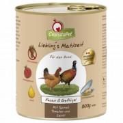 GranataPet Liebling's Mahlzeit fácán és szárnyas konzerv 400 g