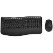 Kit Tastatura + Mouse Microsoft Comfort Desktop 5050, Wireless, Negru