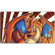 Mega Evolution Zard Y Playmat by Inked Gaming / Perfect for Pokemon gaming! Pokemon Playmat. Your Game. Your Style.