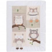 Baby DIB Cobertor 90X120 Buho Crema