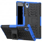 Capa Híbrida Antiderrapante para Sony Xperia L1 - Preto / Azul