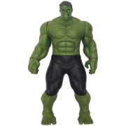 Hulk Action Figure with Audio High Grade Plastic Superhero Toy - 12 Inches (Green)
