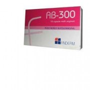 FINDERM FARMACEUTICI Srl Ab300 Capsule Vaginali 10pz (901251936)