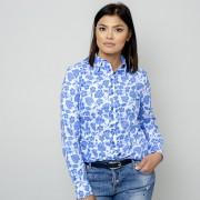 Női kék fehér ing Willsoor virágos / növényes 10961