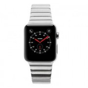 Apple Watch Series 2 carcasa inoxidable 42mm plata con pulsera de cadena plata
