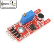 Invento 1pcs small microphone sound sensor module for arduino