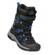 Gyerek cipő Keen levo Winter WP C, black / balein blue
