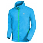 Mac in a Sac Neon Jacket regenjas Kleur: fluorescerend blauw, Maat: XL fluorescerend blauw