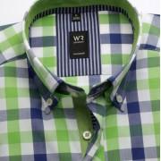 Bărbați cămașă slim fit Willsoor Londra 3815