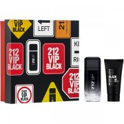 Carolina Herrera 212 VIP Black Комплект (EDP 100ml + SG 100ml) за Мъже