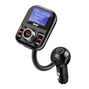 Meco Bluetooth Hands-free Car DAB Digital Radio With Dual USB Charging Ports