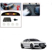 Auto Addict Car White Reverse Parking Sensor With LED Display For Audi A7