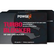 PowGen Turbo Blocker 1+1 ZDARMA: blokuje absorpci přijatých kalorií. Obsahuje 2x 60kapslí na 2 měsíce.