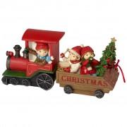 Villeroy & Boch Winter Collage Accessoires Train Noel avec enfants 29x8x13,5cm