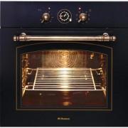 Cuptor incorporabil rustic Hansa BOES68120090, 62l, grill, rotisor, Clasa A