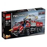 LEGO Technic - Model 2 u 1 - Airport Rescue Vehicle - Fire Rescue Vehicle - Aerodromsko spasilačko vozilo - Vatrogasno vozilo 1098 delova 42068