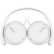 Sony Mdr-Zx110w Cuffie Stereo Mp3 Ad Archetto Cuffie On Ear Pieghevoli Colore Bianco - Mdr-Zx110w Serie Zx