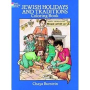 Jewish Holidays and Traditions Coloring Book, Paperback/Chaya Burstein