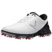 Callaway Coronado Zapatillas de Golf para Hombre, Blanco/Multi, 9.5 WUS