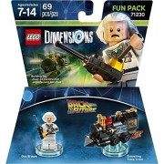 Lego Dimensions Fun Pack Back to The Future Doc Brown Lego Dimensions Fan Pack Back to The Future Doc Brown (Import Version)