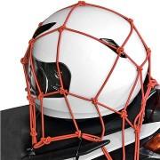 OXFORD rugalmas poggyász háló motorkerékpárokhoz (30 x 30 cm, piros)