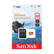 MEMORIA SANDISK 32GB MICRO SDXC MOBILE EXTREM ACTION CAM 100MB/S 4K CLASE 10 C/ADAPTADOR
