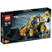 Lego Technic Backhoe Loader Building Set