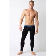 Timoteo Sport 2.0 Long Johns Underwear Pants Underwear Black UM1220