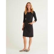 Boden Schwarz Ellen Ottoman-Kleid Damen Boden, 42 R, Black