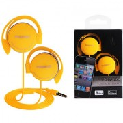 6th Dimensions High Quality Genuine Puqinuo PQN-500 Ear Hook Earphone For Mobile Music Devices (Multi Colour)