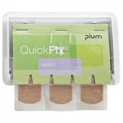 Plum QuickFix Uno Plåster 45 st Vit