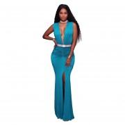 Vestido De Noche Venico WW1116QZ027 Azul