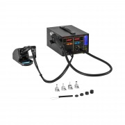 Soldering Station with Smoke Ventilation – 2 Displays – 720 Watt - Basic